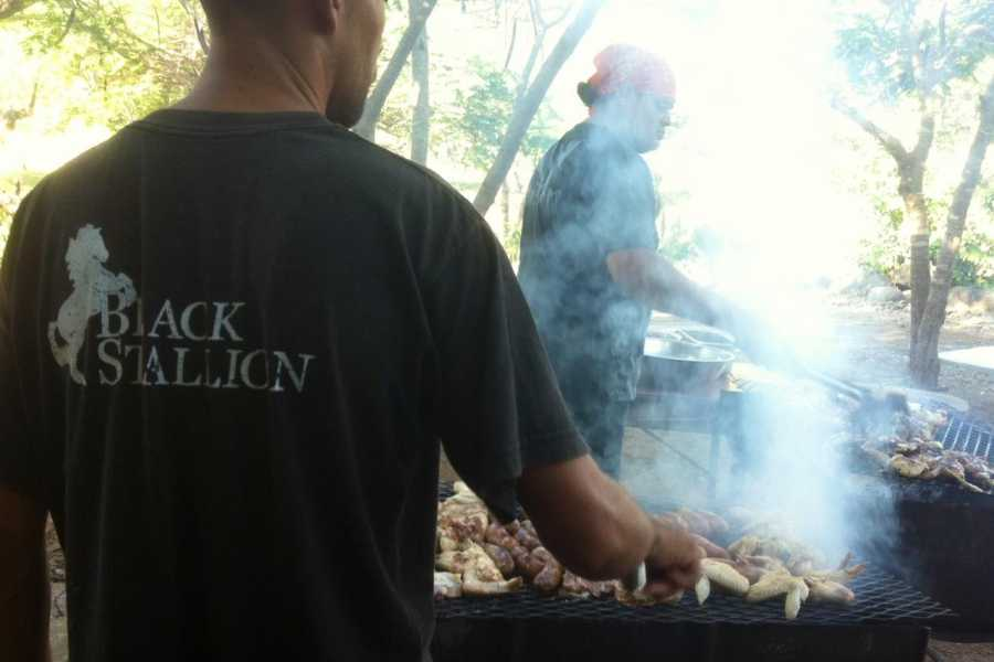 Black stallion ranch Seafood BBQ Buffet