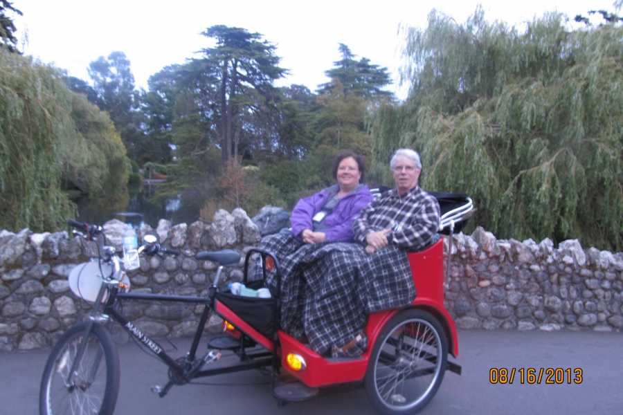 Victoria Pedicab Company Gardens, Seaside and Painted Ladies (character homes)