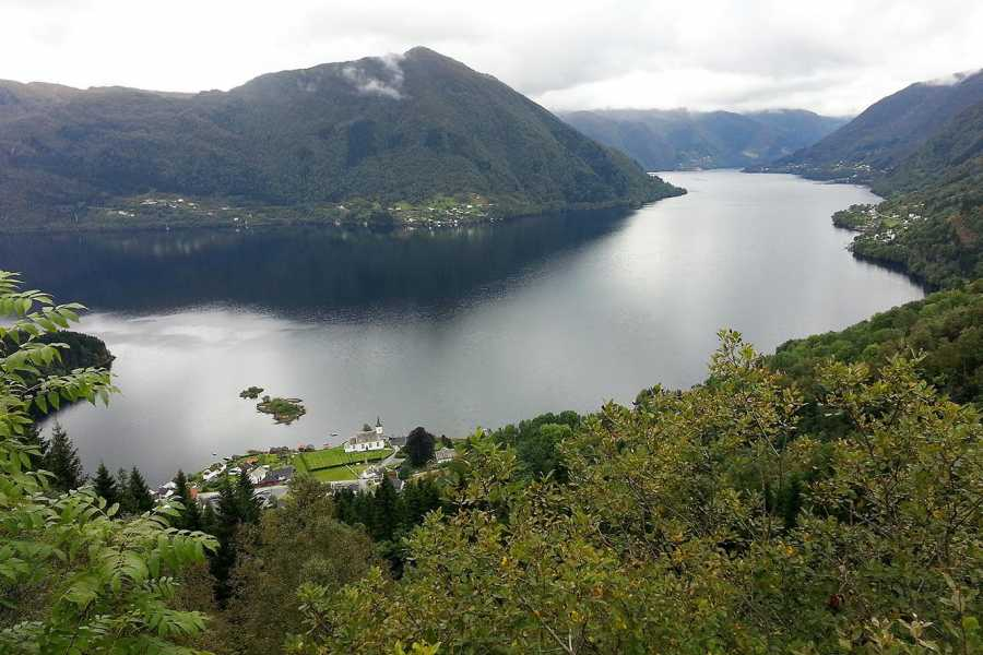 Norway Insight Into the Fjords with accommodation in lavvo