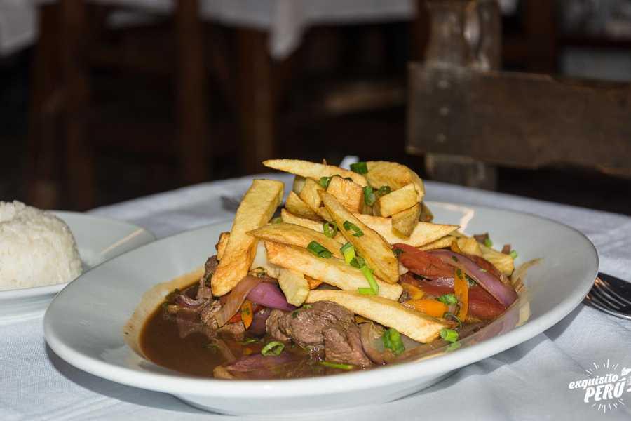 Exquisito Perú Classiques de la gastronomie péruvienne