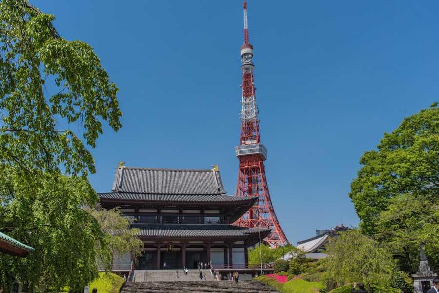 Mina Japan 東京建築物巡り