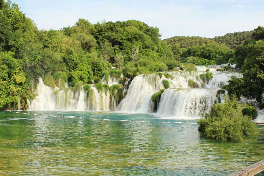 "Travel Agency"" South Tours"" Private tour to National Park Krka Waterfalls from Split and Trogir"