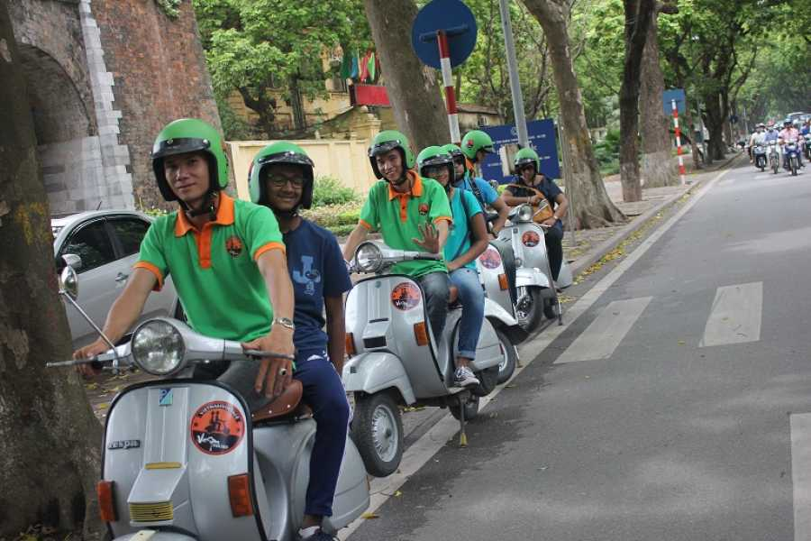 Friends Travel Vietnam Real Hanoi Vespa Experience