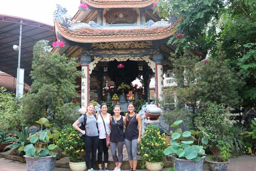Friends Travel Vietnam Hanoi Countryside Vespa Tour