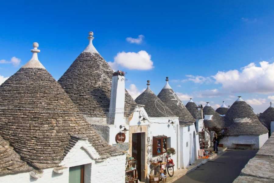 Destination Apulia Tour of Alberobello and tasting wine in cellar