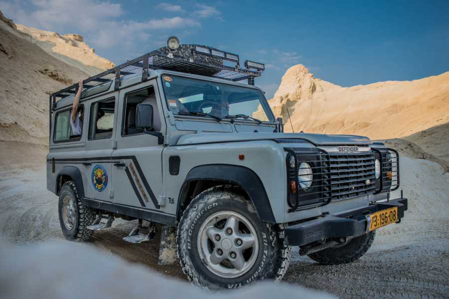Desert-Pass Jeep Tour in the Dead Sea