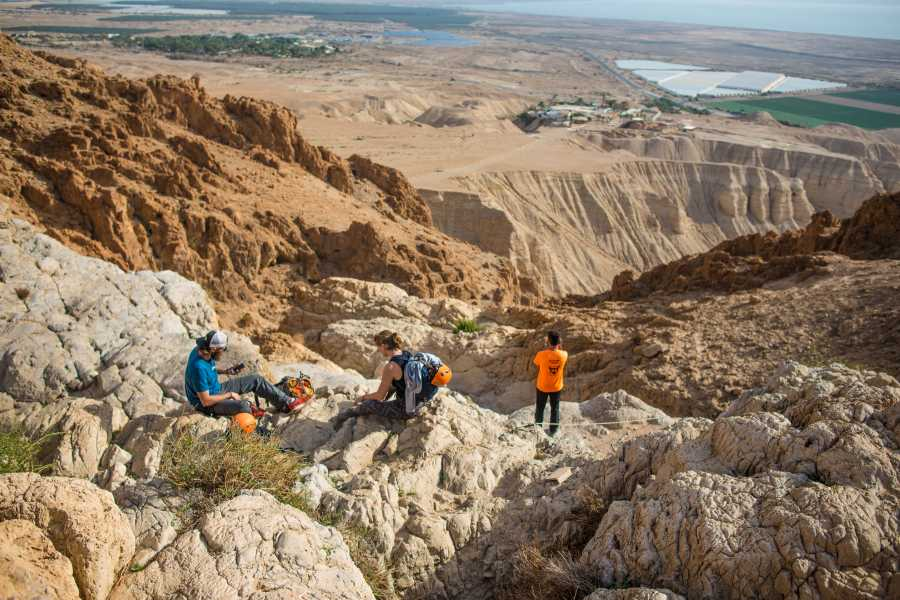 Desert-Pass Canyoning in Qumran (Daily Tour)