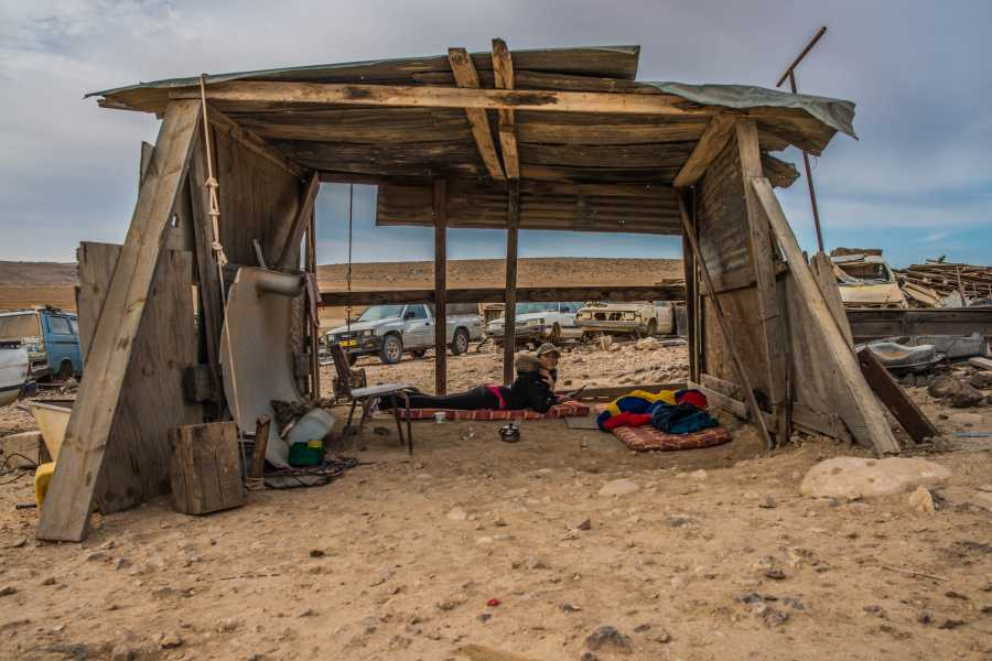 Desert-Pass Cultural Jeep Tour with Bedouin Hospitality
