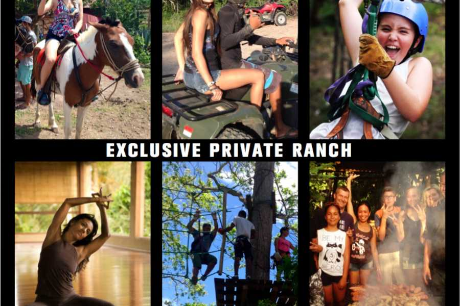 Black stallion ranch Super Ranch Combo: Ride, Zip & Gourmet BBQ.