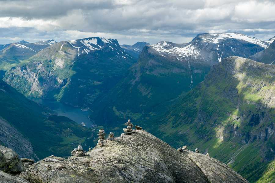 Norway Excursions Hellesylt Scheduled - Geiranger - The majestic tour