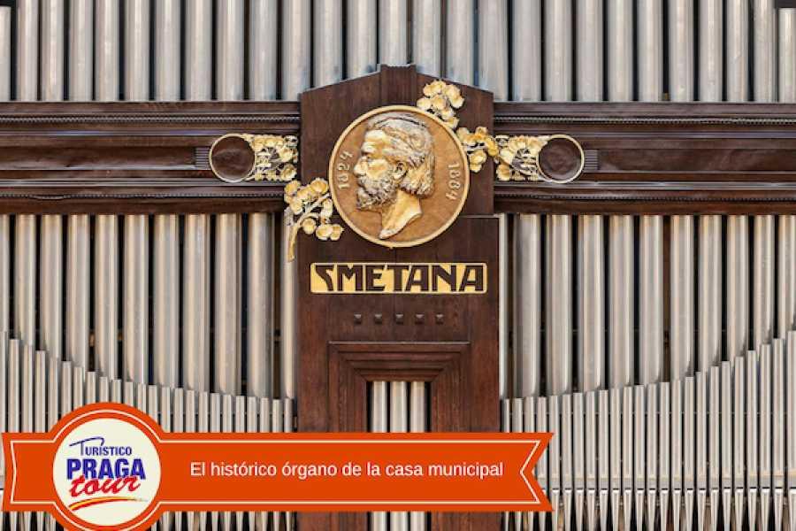 Turistico s.r.o. Concierto clásico en la Casa Municipal de Praga