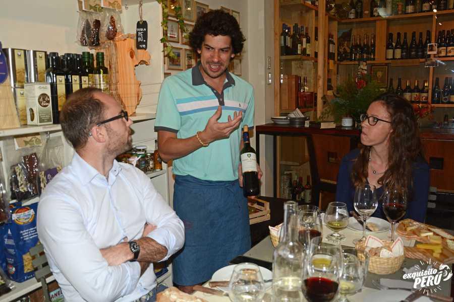 Exquisito Perú Vins et fromages artisanaux péruviens