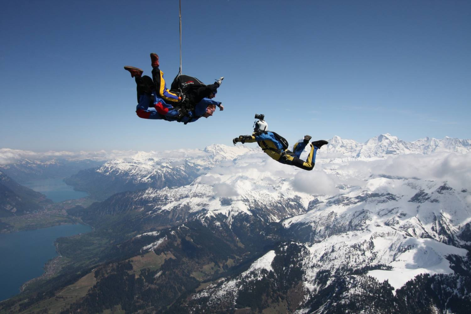 Image result for Switzerland Interlaken skydive