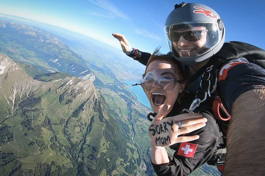 Skydive Switzerland GmbH Airplane Skydiving
