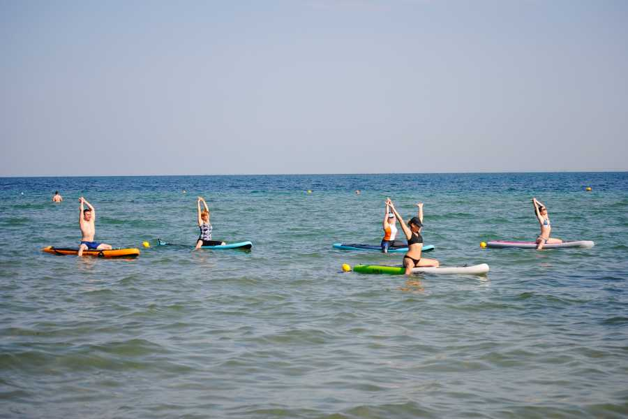 Grekaddict SUP Yoga in Thessaloniki
