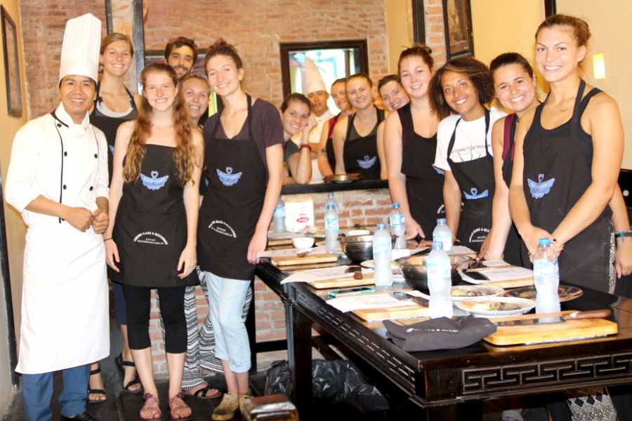Friends Travel Vietnam Cooking Class at Butterfly Restaurant ( Private tour)