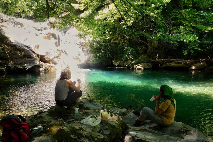 "Visit Greece Travel Hiking Tour ""Lost in the Forest"""