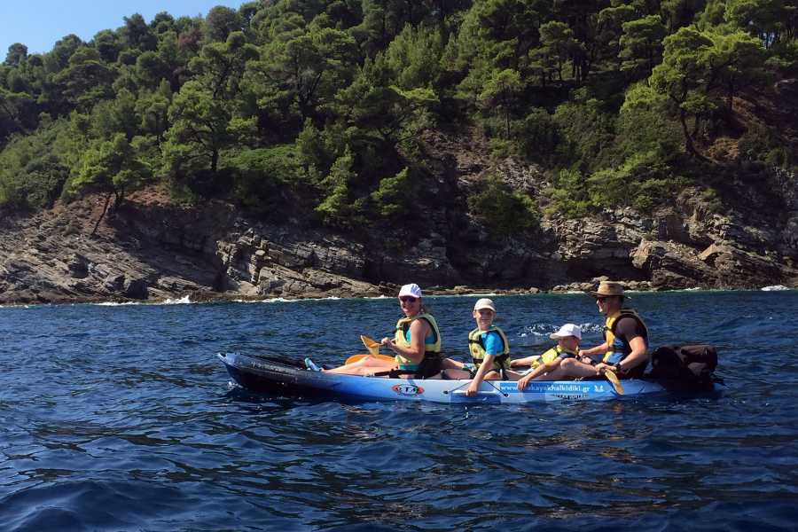 Grekaddict Full Day Sea Kayak Trip in Halkidiki