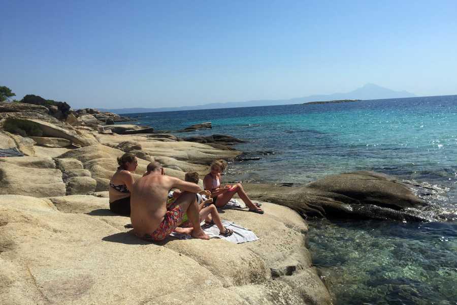 Grekaddict Full Day Sea Kayak Trip in Halkidiki