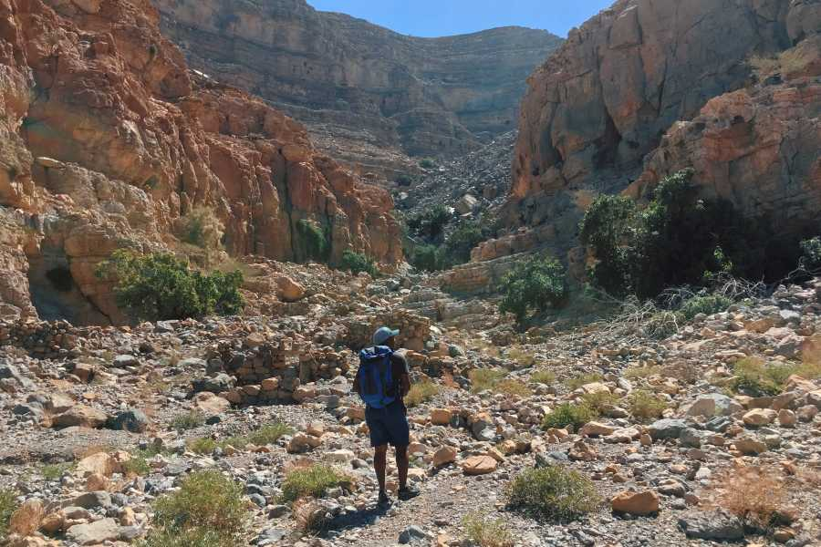 Adventurati Outdoor Backpacking Wadi of Jais - UAE