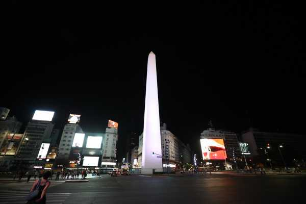 SHARED TOUR OF BUENOS AIRES BY NIGHT