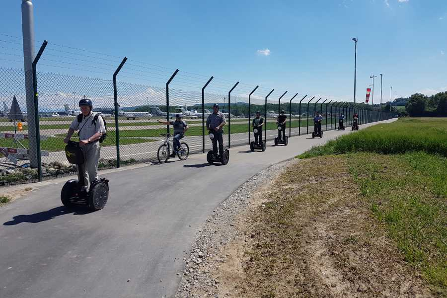 Segway City Tours by HB-Adventure Zurich Airport Tour with Segways (complete tour)