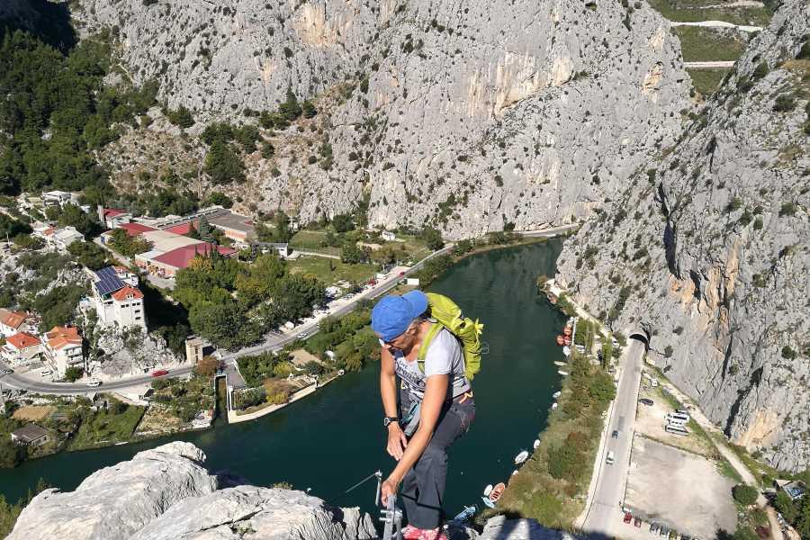 Iris Adventures Croatia Via ferrata Omiš