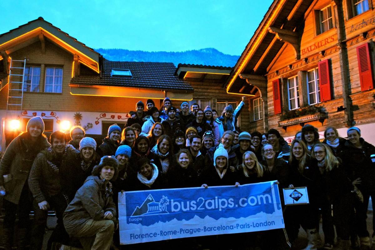 Bus2Alps AG Prague 2 Interlaken Winter
