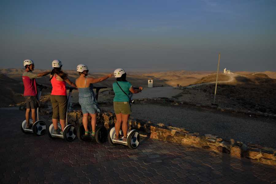 Wild-Trails Sunrise Segway Tour in the Urban Desert