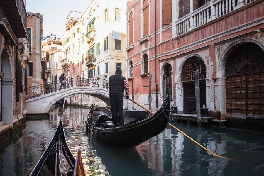 Venice Tours srl COMBO 11: Palacio ducale + Basilica Dorada + Paseo en góndola + arte del vidrio + Tour panoramico