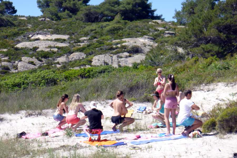 Grekaddict Yoga and Kayak in Halkidiki