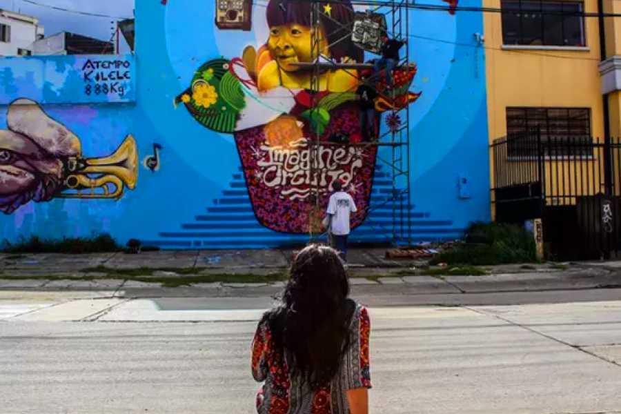 Medellin City Services Sensational Street Art tour in Bogota