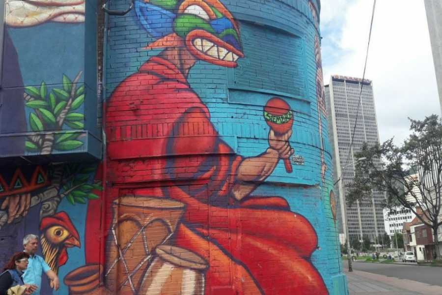 Medellin City Tours Sensational Street Art tour in Bogota