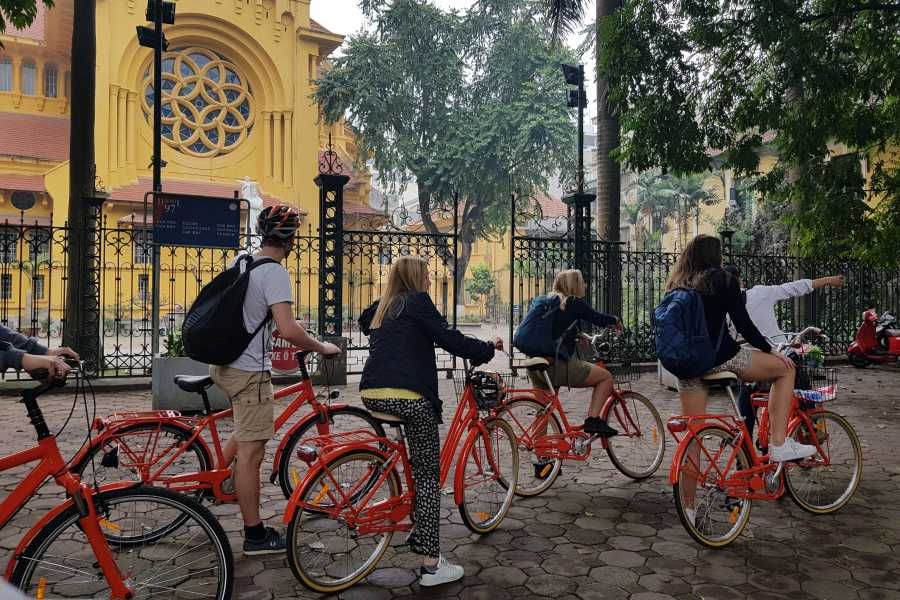 Biking Around Vietnam Real Hanoi Bicycle Experience 3,5 hours (afternoon 01:30 PM)