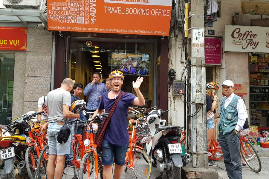Biking Around Vietnam Real Hanoi Bicycle Experience 3,5 hours (afternoon 01:30 PM)