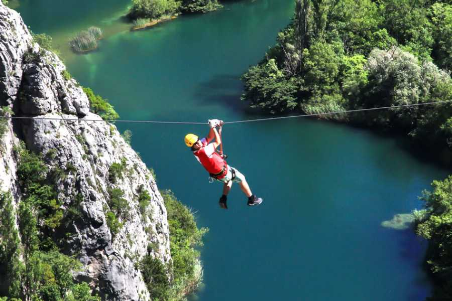 Bus2Alps AG Croatia Zip Lining