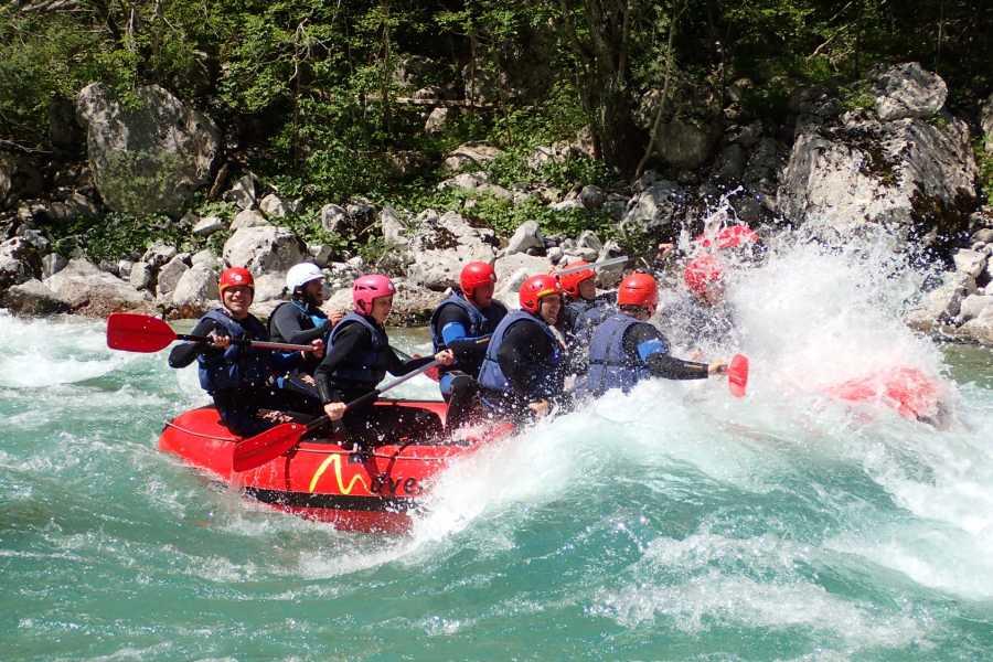 HungaroRaft Kft Rafting hétvége Szlovéniában, 2 éjszaka szállással