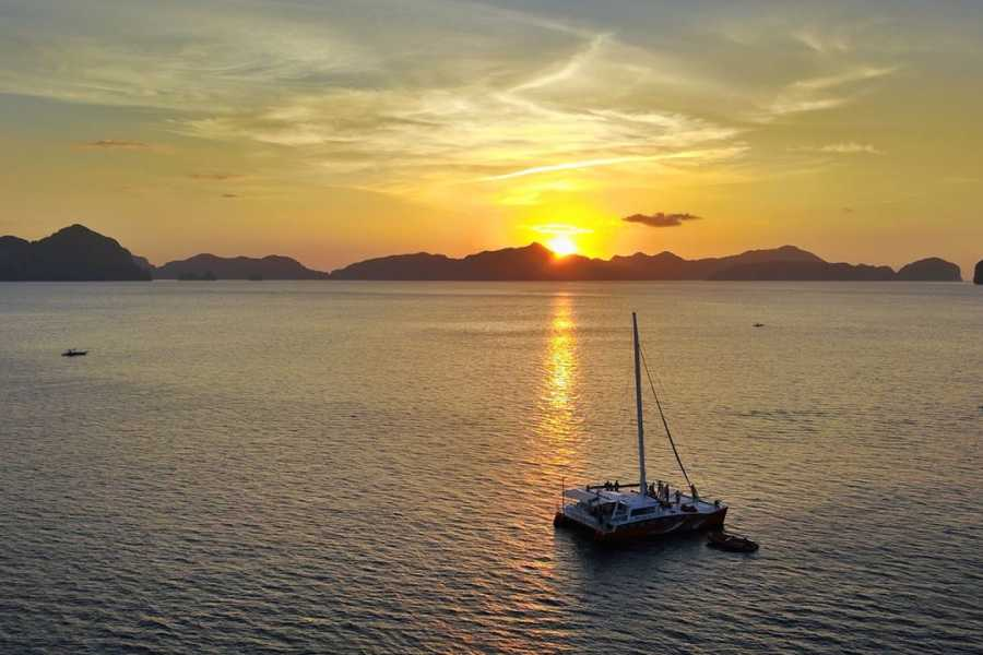 Philippine Island Cruise Corp Full Day Premium Catamaran Island Group Tour D