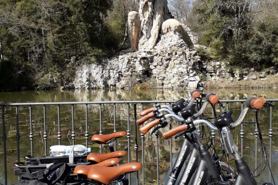 Italy on a Budget tours E - Bikes Villa Demidoff