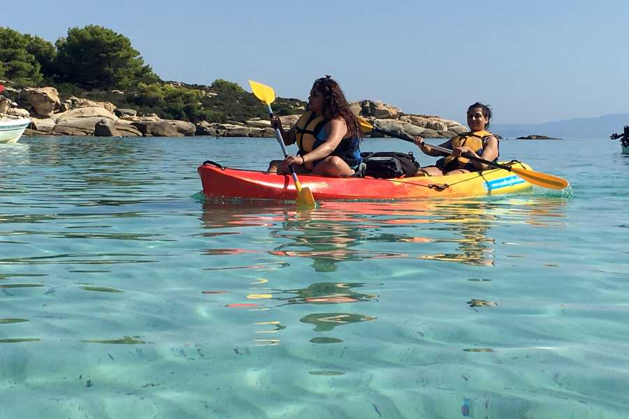 Grekaddict Half Day Sea Kayak Trip in Halkidiki