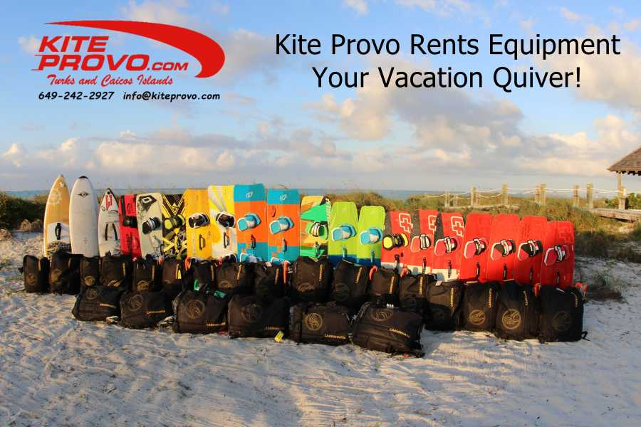 Kite Provo & SUP Provo Rentals - Standard Full Package Rentals Hourly, Daily, 3 Day, or Weekly