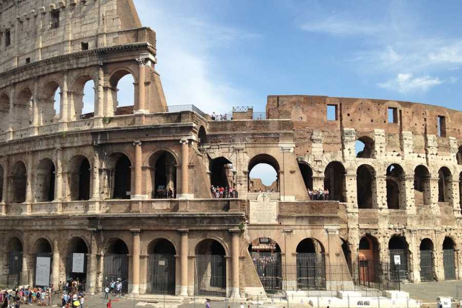 Real Rome Tours VIP Colosseum Top Tiers & Ancient Rome Semi-Private Tour