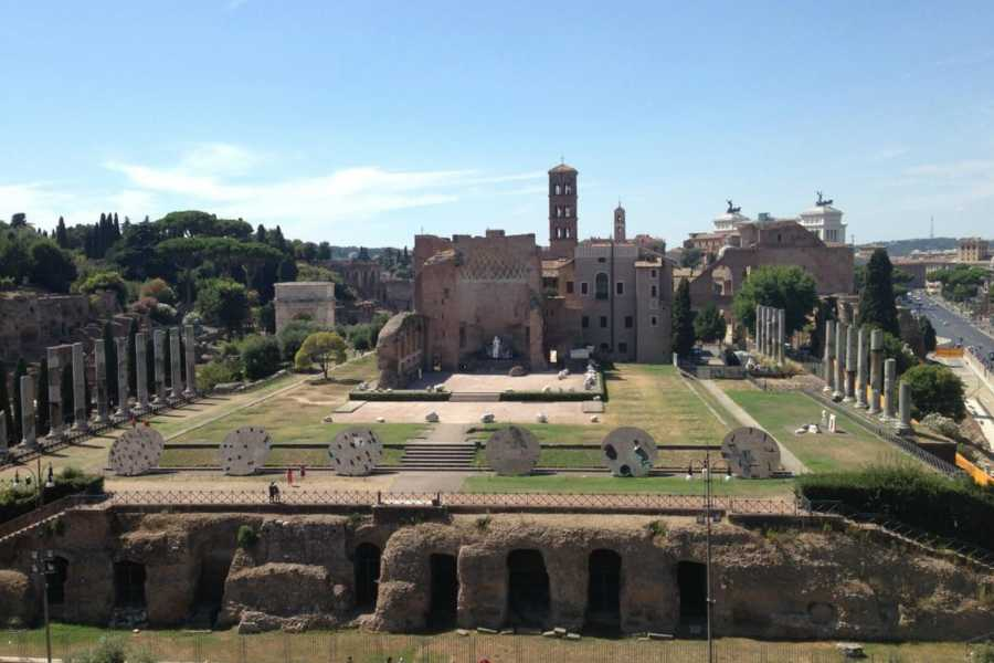 Real Rome Tours Ancient Rome & Colosseum Semi-Private Tour