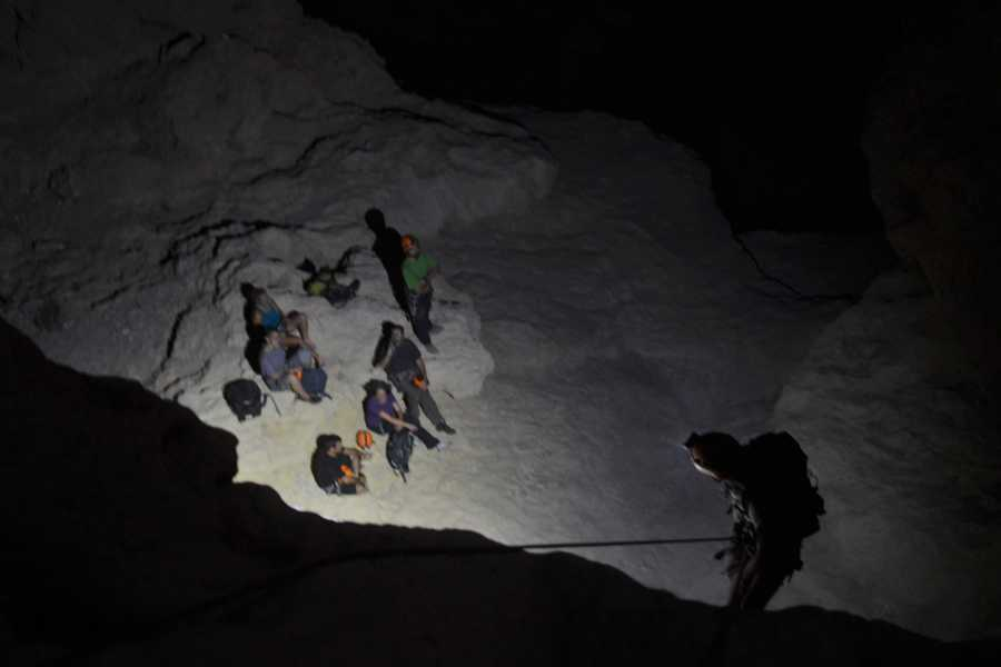 Wild-Trails Night Canyoning in Israel