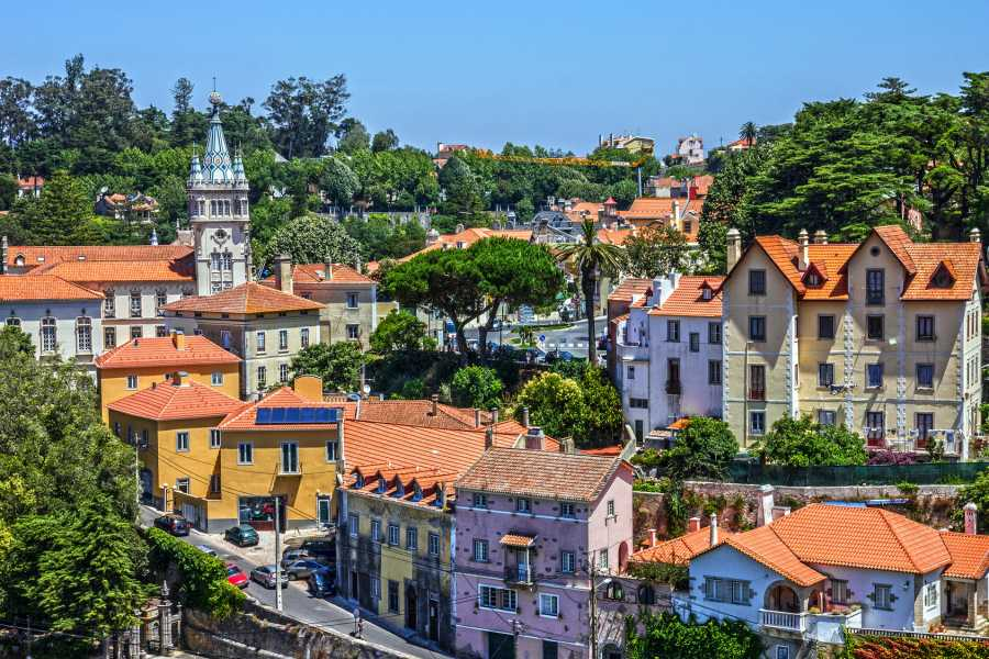 Lisbon on Wheels Express Half Day Tour - Pena palace, Sintra and cabo da Roca