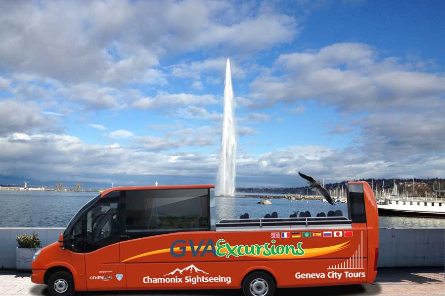 GVA Excursions Geneva City Sunset Tour with Open Top Bus