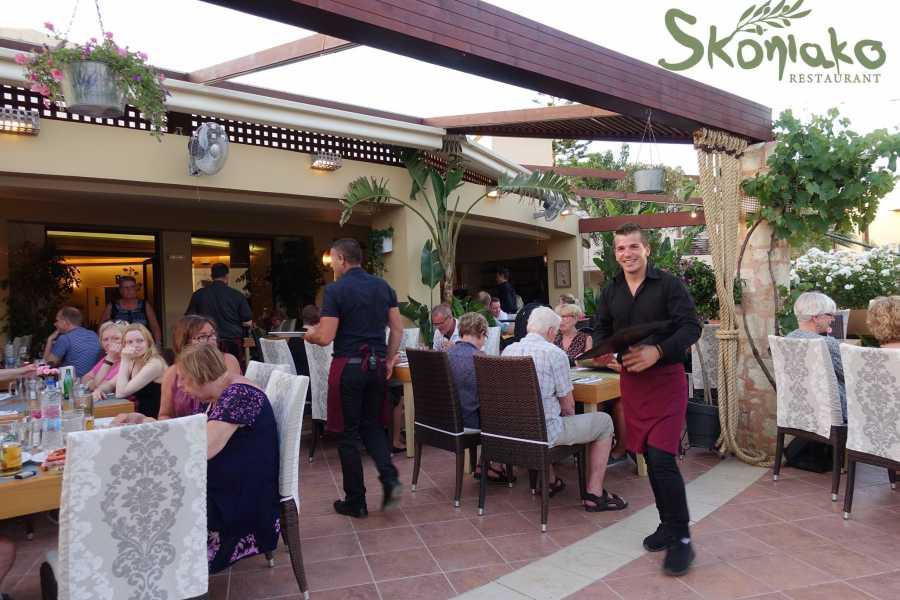 Destination Platanias Restaurang Skoniako