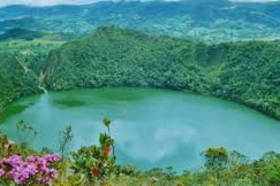 Medellin City Tours Green Guatavita lake and reserve