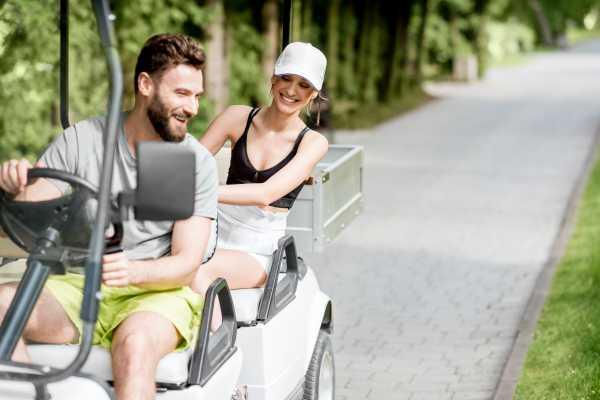 4-Person Golf Cart Rental