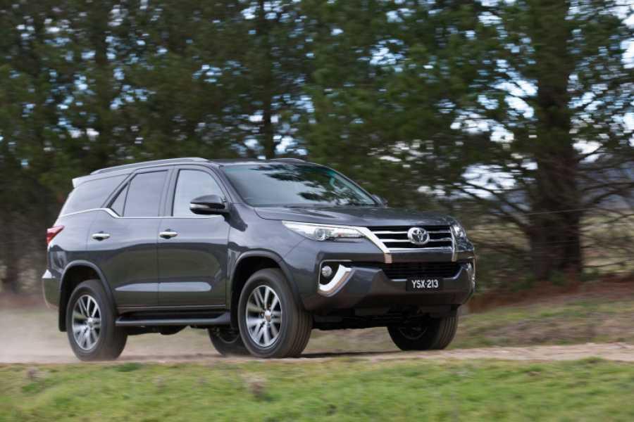 Tour Guanacaste Toyota Fortuner SUV Rental Costa Rica